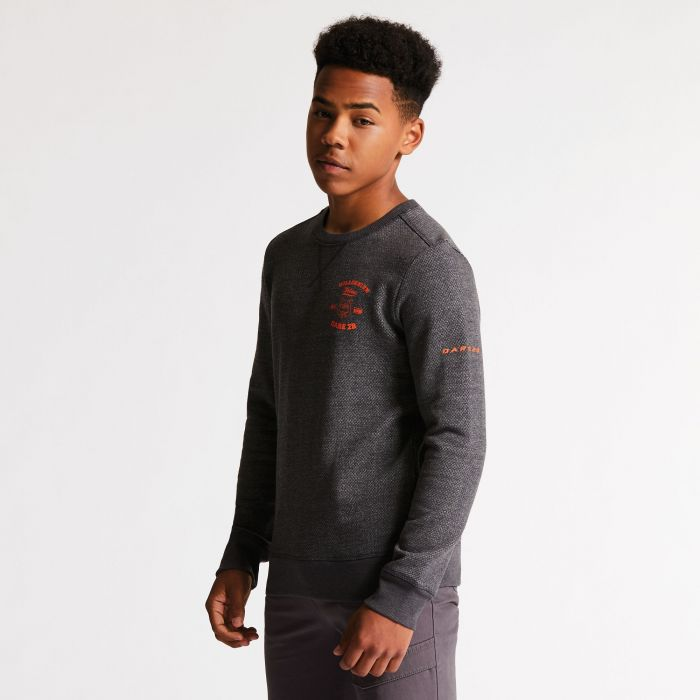 Kids Strungout Sweater Charcoal Grey