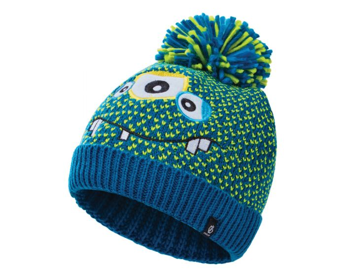 Boys Brainstorm Ii Fleece Lined Knit Beanie Methyl Blue Monster