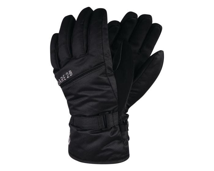 Boys Mischievous Ski Gloves Black