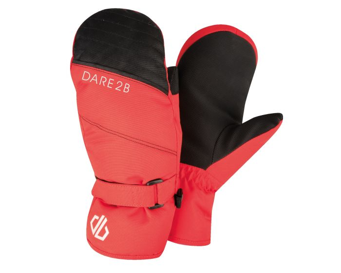 Boys Roaring Ski Mitts Fiery Red