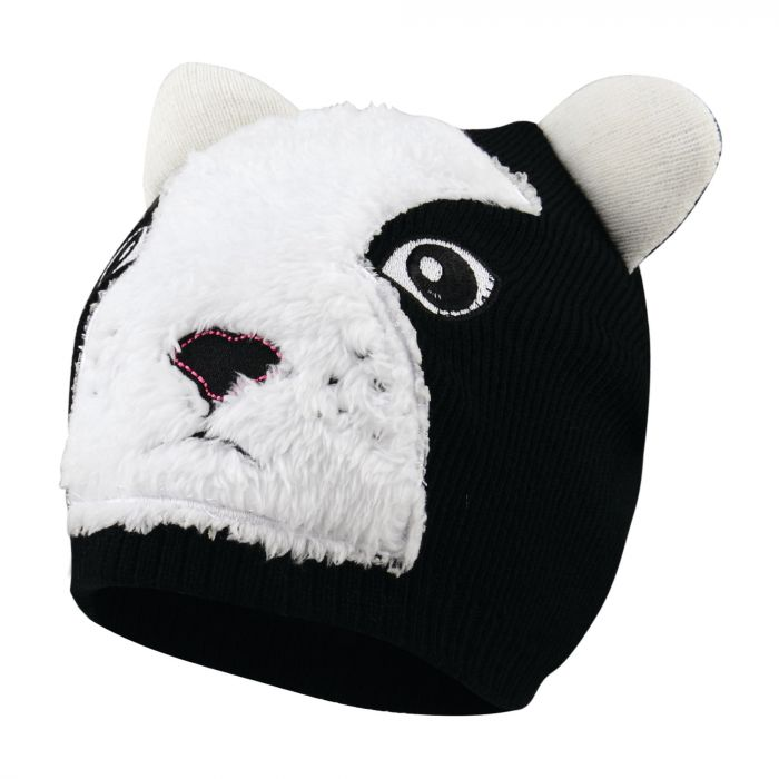 Kids Watch Out Beanie Hat Black
