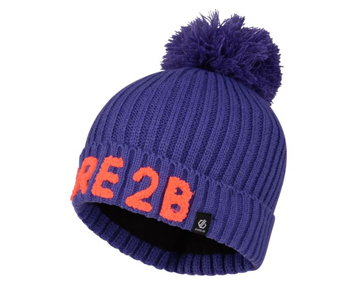 Girls Indication Dare2b Bobble Hat Simply Purple
