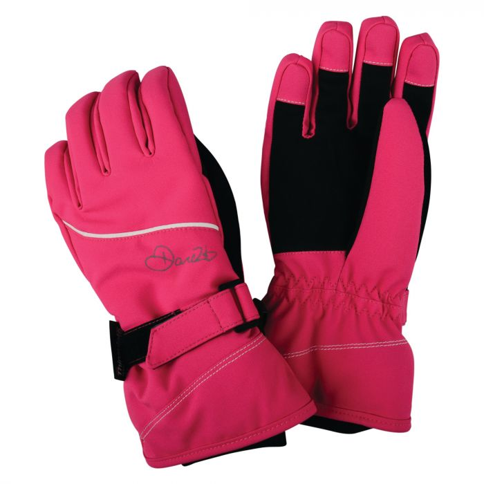 Kids Instruct Gloves Cyber Pink