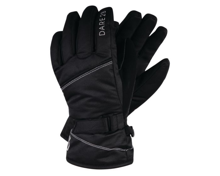 Girls Impish Waterproof Insulated Ski Gloves Black
