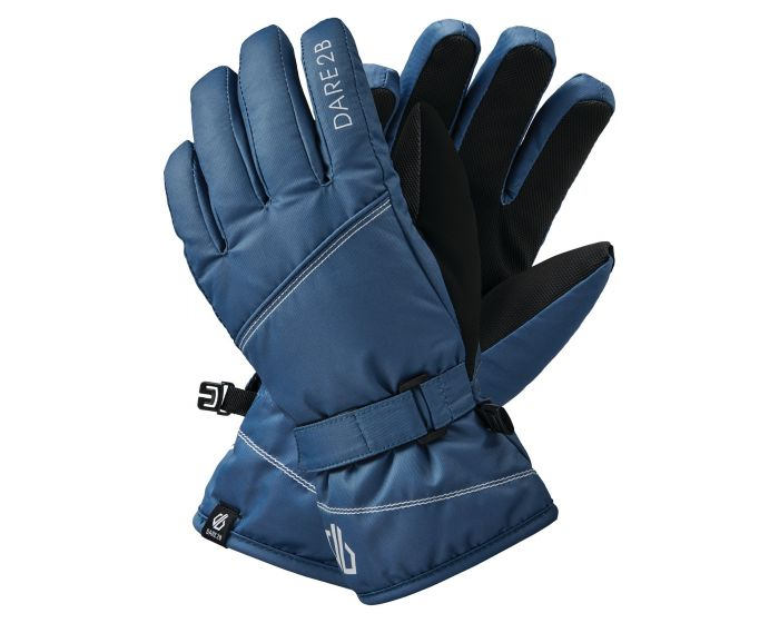 Girls Impish Waterproof Insulated Ski Gloves Dark Denim