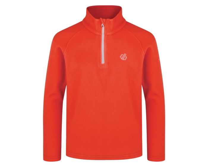 Kids Freehand Half Zip Lightweight Fleece Fiery Coral