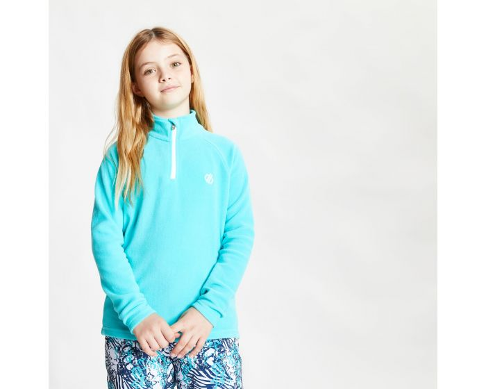 Kids Freehand Half Zip Lightweight Fleece Ceramic Blue