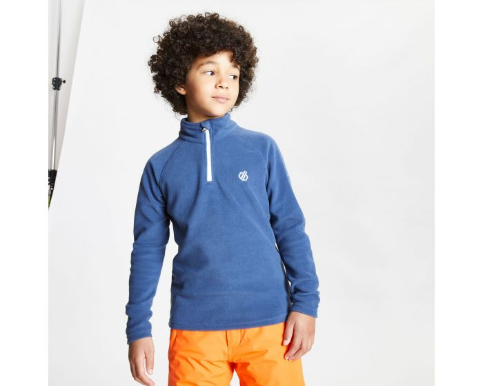 Kids Freehand Half Zip Lightweight Fleece Dark Denim