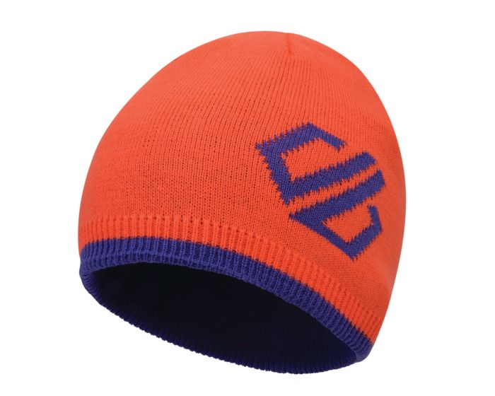 Dare 2b Childrens Frequent Beanie Fleece Lined Knitted Reversible Hat Hat
