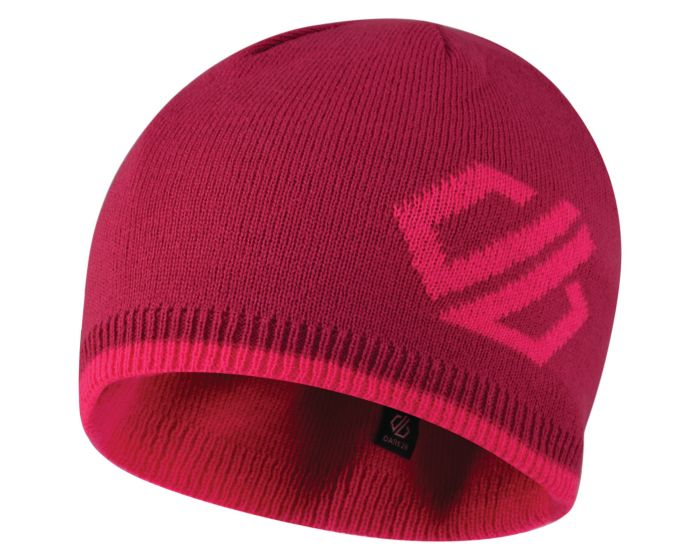 Kids Frequent Beanie Hat Fuchsia Cyber Pink