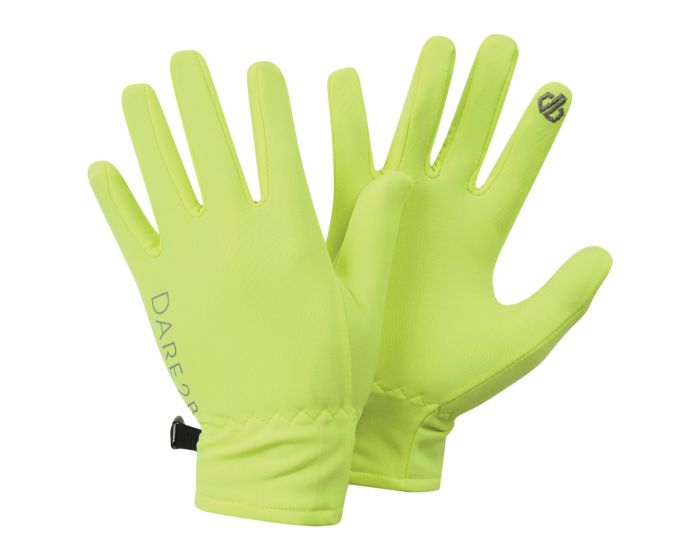 Kids Chimerical Lightweight Gloves Fluro Yellow