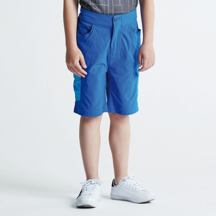 Kids Accentuate Shorts National Blue