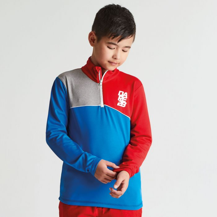 Kids Foray Core Stretch Midlayer Athletic Blue Code Red