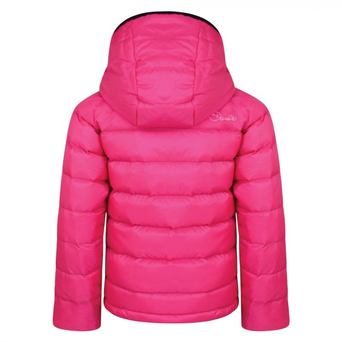 a580d6ae5 Kids Download Down Fill Hooded Jacket Cyber Pink