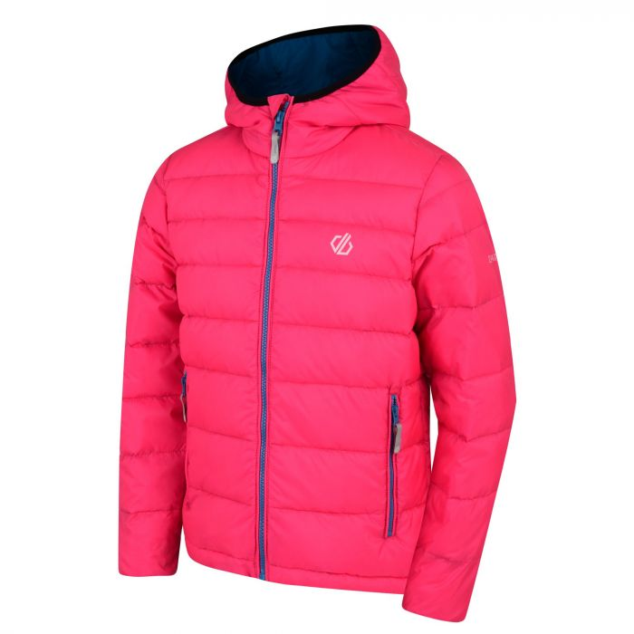 5226cc776 Kids' Reload Down Fill Hooded Padded Jacket Cyber Pink