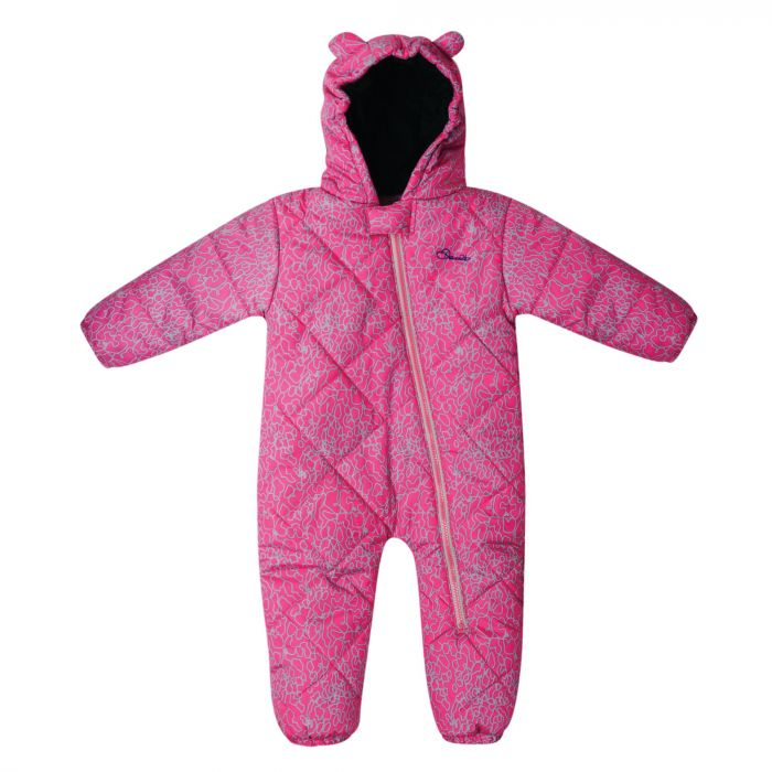 Kids Break The Ice Ski Snowsuit  Cyber Pink