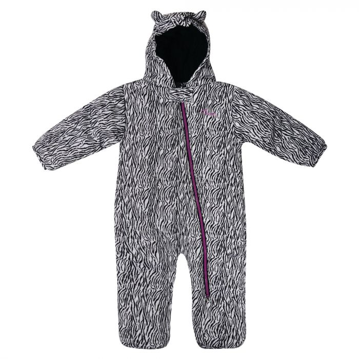 Kids Break The Ice Ski Snowsuit  Black/White