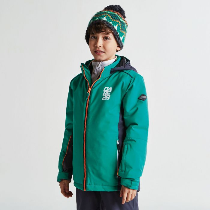 4c36cf9fa58a Kids Quell Ski Jacket Nordic Ebony Grey