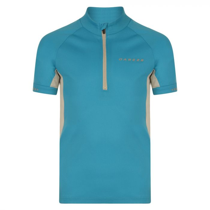 Kids Protege II Cycling Jersey Fluro Blue