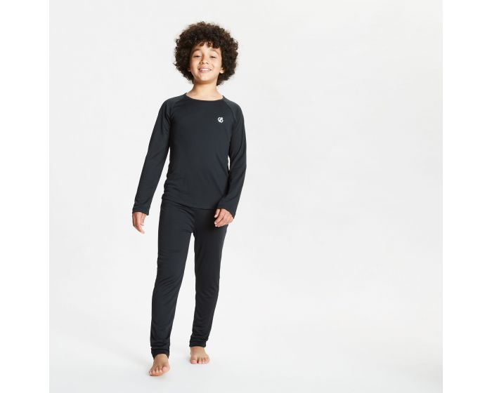 Kids Elate Base Layer Set Black
