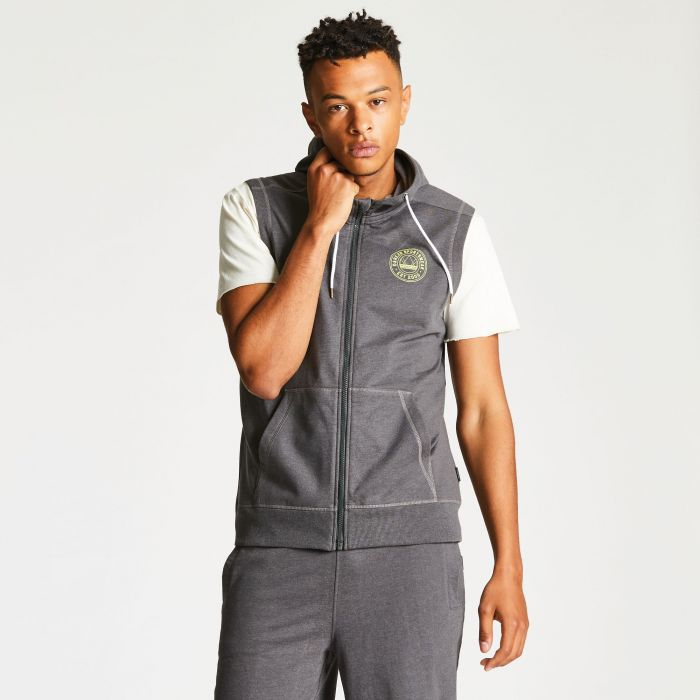Men's Observant Vest Charcoal Grey
