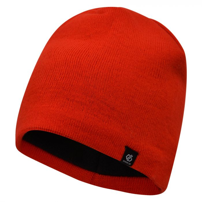 b7e860608 Men's Rethink Embroidered Beanie Hat Fiery Red