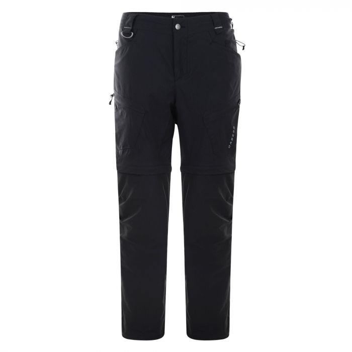 Tuned In Zip Off Trousers Black