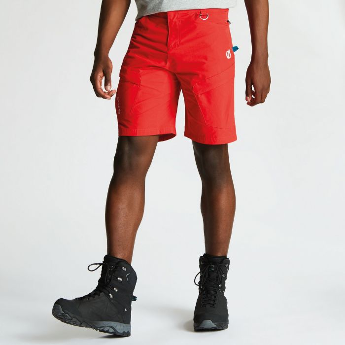 4c96b3c9f4 Men's Disport Lightweight Multi Pocket Shorts Fiery Red. DMJ441_657 1
