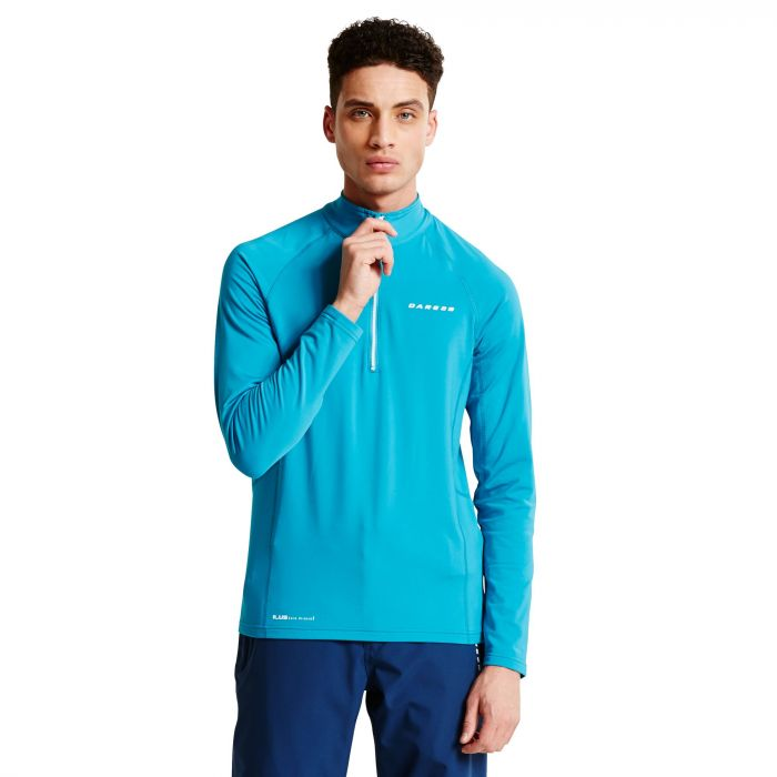 Men's Interfuse Core Stretch Midlayer Niagra Blue