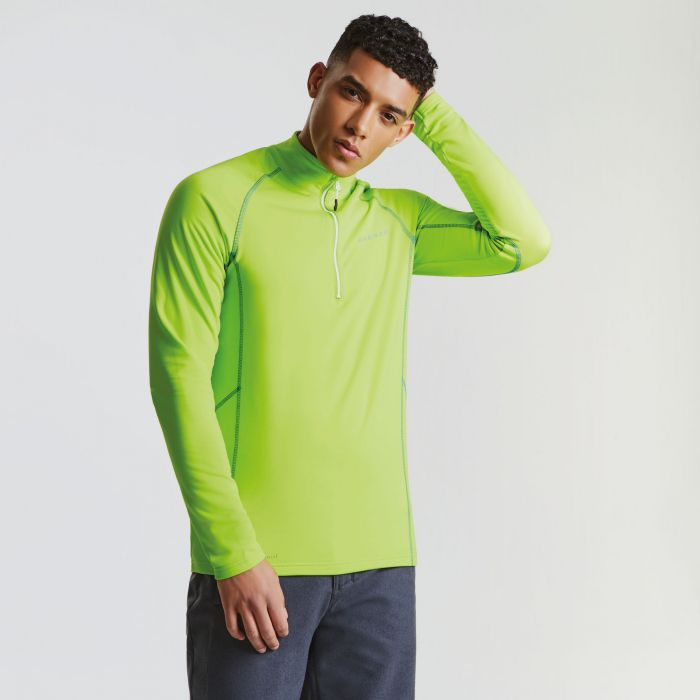 Men's Interfuse Core Stretch Midlayer Electric Lime