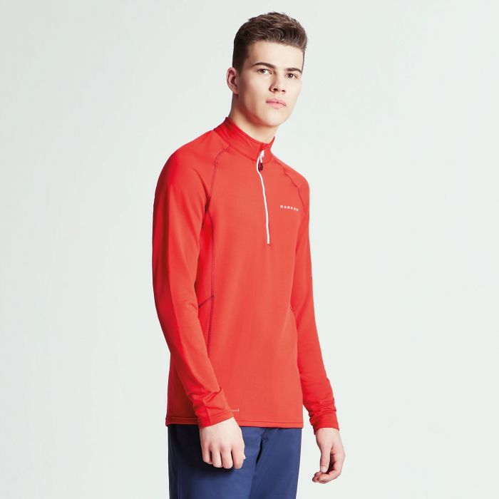 Men's Interfuse Core Stretch Midlayer Code Red