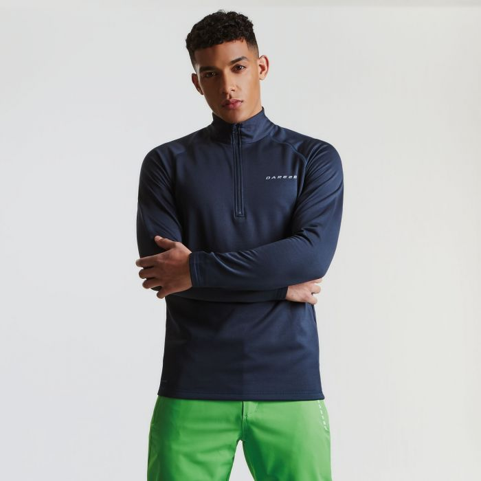 Men's Fuseline III Core Stretch Midlayer Outerspace Blue