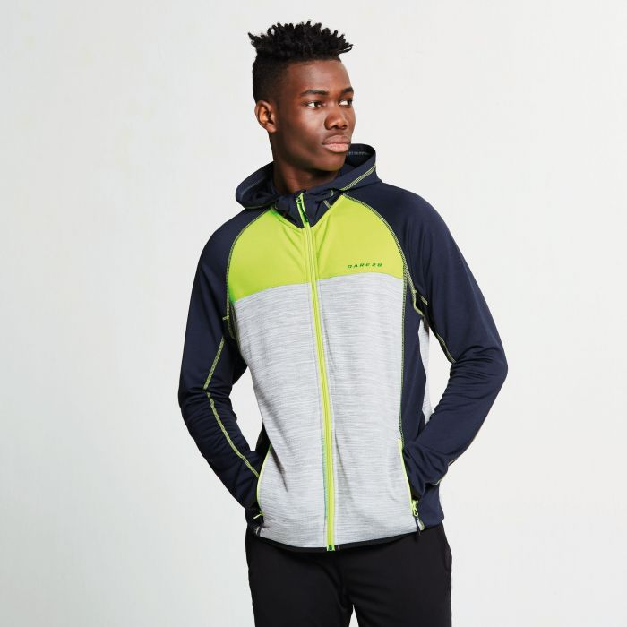 Men's Ratify II Core Stretch Midlayer Jacket Outerspace Blue Ash