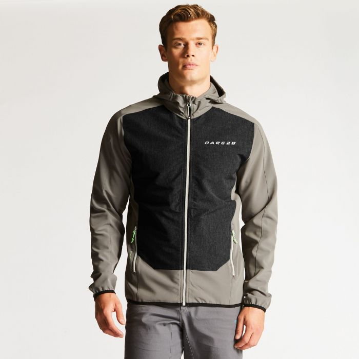 Men's Appertain Softshell Jacket Smokey/Charcoal
