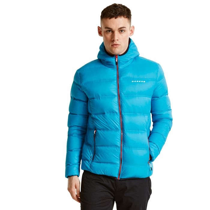 Men's Downtime Down Fill Insulated Jacket Niagra Blue