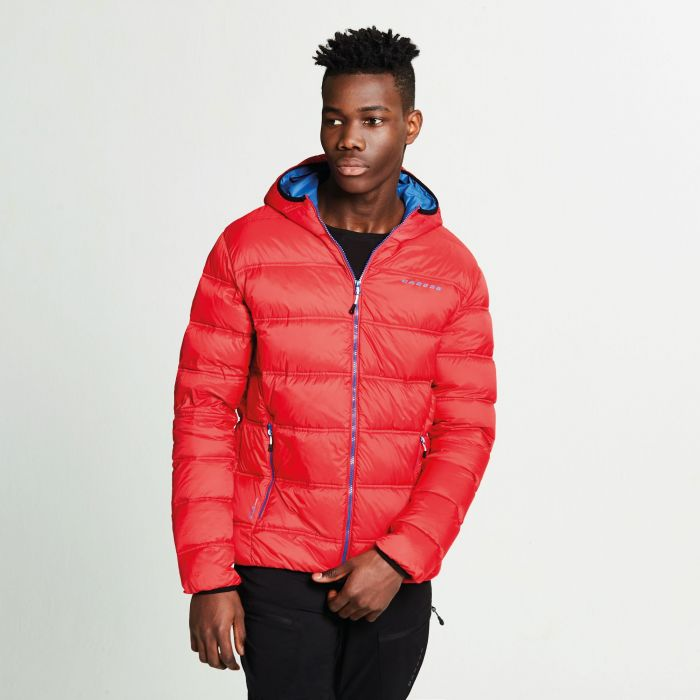 Men's Downtime Down Fill Jacket Code Red