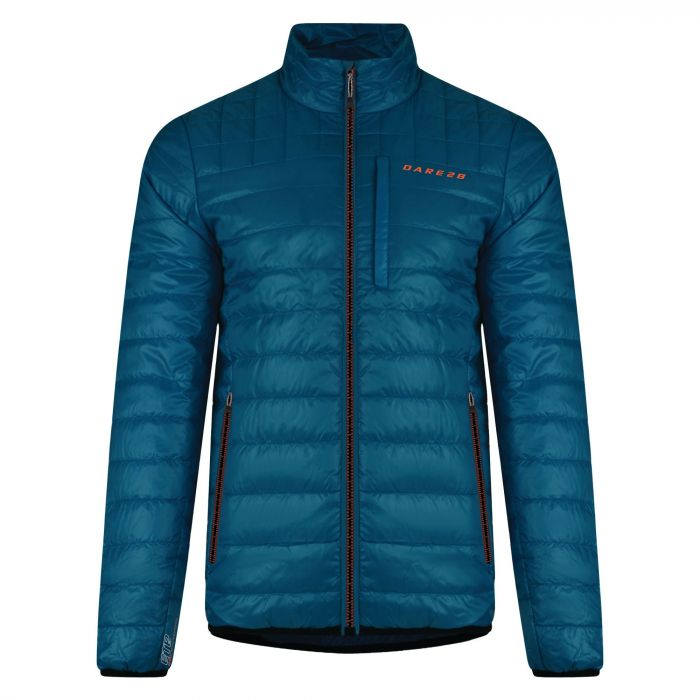 Men's Quadrate Jacket Kingfisher Blue