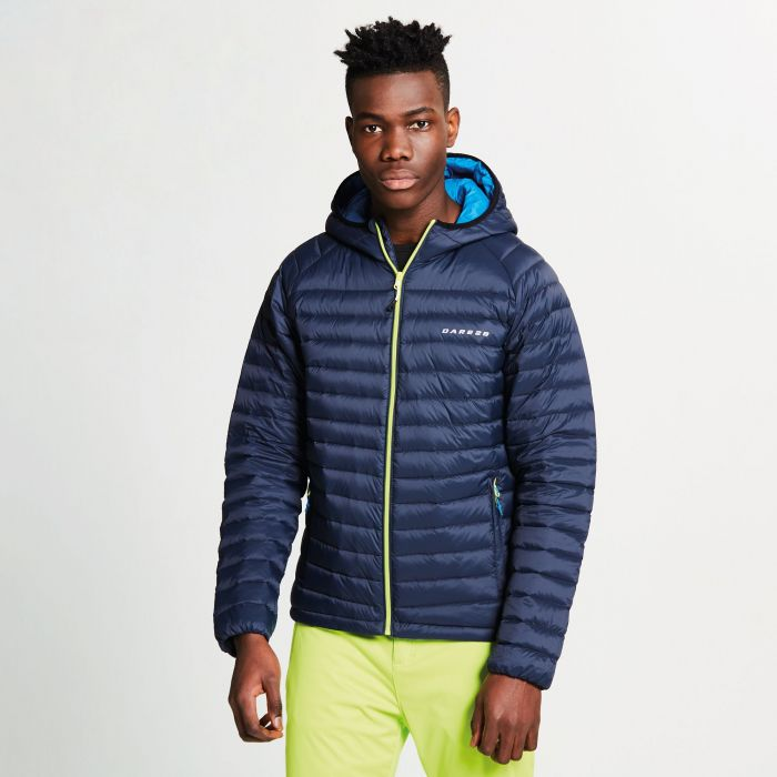 Men's Phasedown Down Fill Insulated Jacket Outer Space Blue