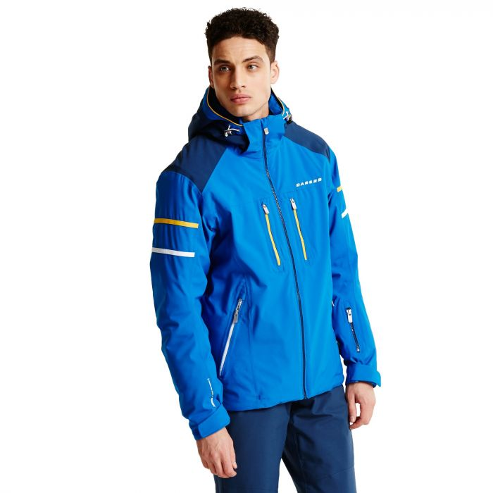 Men's Carve It Pro II Ski Jacket Oxford Blue