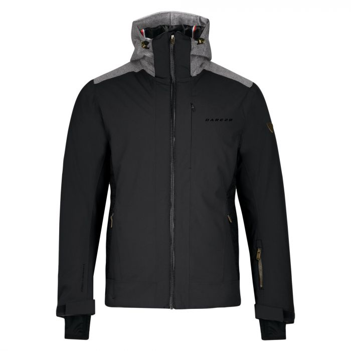 Rendition Waterproof Insulated Jacket Black Charcoal