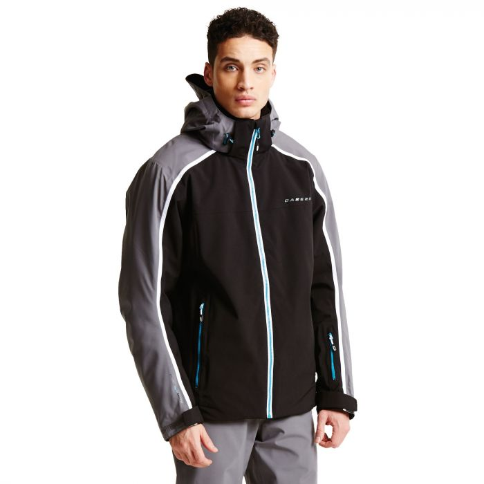 Men's Immensity II Ski Jacket Black/Smokey