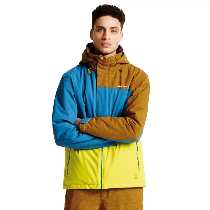 Men's Hurl Down II Ski Jacket NeonSp/Titan