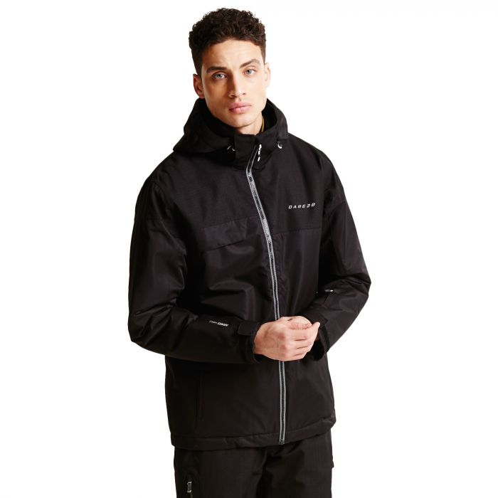 Men's Requisite II Ski Jacket Black/Black