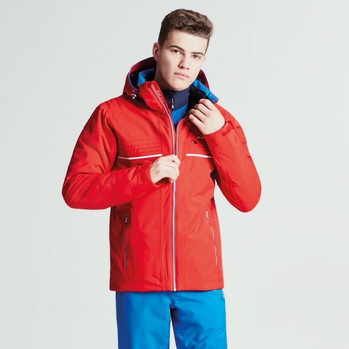 Men s Rendor Ski Jacket Code Red  e0426f22d