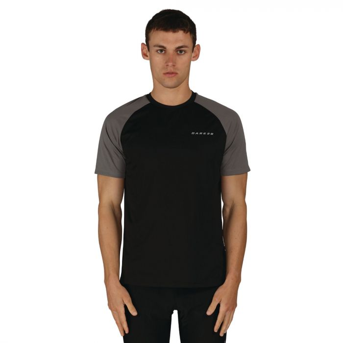 Men's Undermine Performance T-Shirt Black Grey