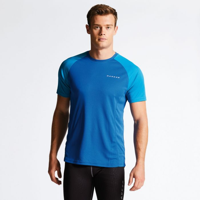 Men's Undermine Performance T-Shirt Blue