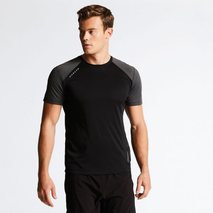 Men's Unified II Technical T-Shirt Black/Charcoal