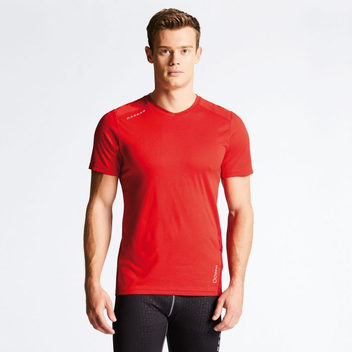 Men's Vicinity Technical T-Shirt Danger Red