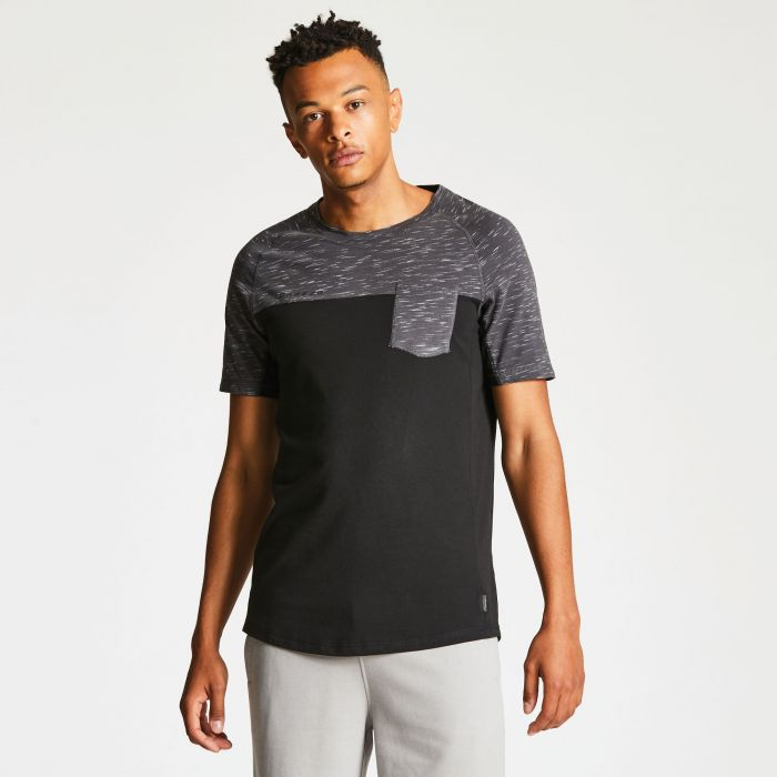 Men's Expiration Tee Black/Charcoal