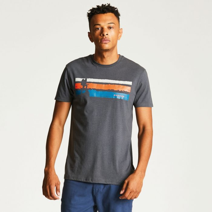 Men's Trail Hunter T-Shirt Charcoal Grey